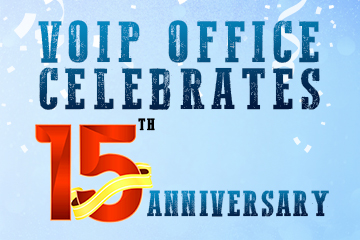 VoIP Office Celebrates 15th Anniversary